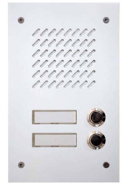 Türsprechstelle Linea 2K Weiß