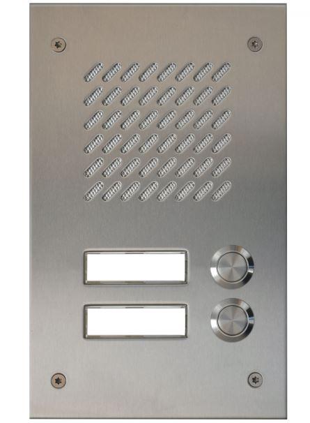 Türsprechstelle Prestige 2K Edelstahl
