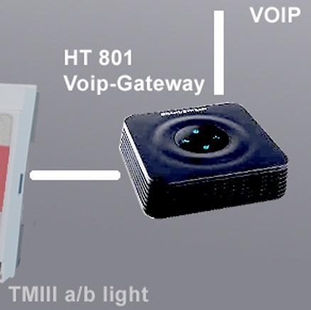 IP-Gateway HT 802 voip