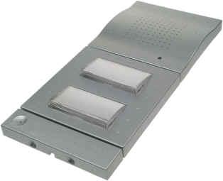 DoorLine a/b T01/T02 Classic Silber mit 2 Relais